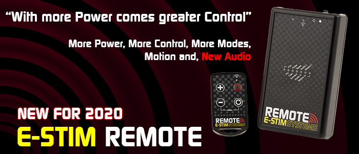 New E-Stim Remote System now available.